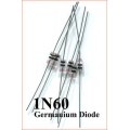1N60 Germanium Diode for Crystal Radio (4 diodes pack)