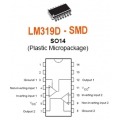 25 X LM319D high speed comparators SMD SMT ICs (pack of 25)