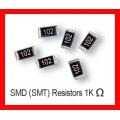 1K Ohm SMD/SMT Resistor 0805 1/8W. (Pack of 10)