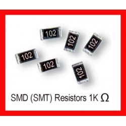 1K Ohm SMD/SMT Resistor 0805 1/8W. (Pack of 10)