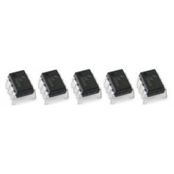 10 X LM555 TIMER ICs 8-PIN DIP. (10 ICs pack). LM555/NE555/SA555
