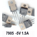LM7905 -5V 1A NEGETIVE REGULATOR. (Pack of 4)