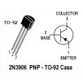 25 X 2N3906 PNP TO-92 Transistor. 25 Transistors Pack.
