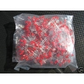 Red Leds 3mm, Light Emitting Diodes. (Pack of 20)