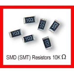 10K Ohm SMD/SMT Resistor 0805 1/8W. (Pack of 10)