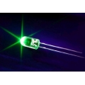 Green Leds 5mm, Light Emitting Diodes. (Pack of 20)