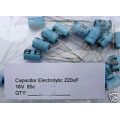 220uF Electrolytic Capacitors 16V (pack of 3)
