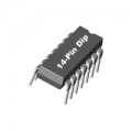 5 X 74HCT03N ICs DIP14 Case. Quad 2-input NAND gates. (Pack of 5)