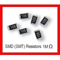 1M Ohm SMD/SMT Resistor 0805 1/8W. (Pack of 10)