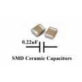50 x SMD/SMT Ceramic Capacitor 0.22uF, TDK. (Pack of 50)