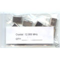 12MHz CRYSTALS. (Pack of 2).