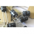 1uF Electrolytic Capacitors 50V (pack of 3)