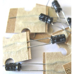 2.2uF Electrolytic Capacitors 35V (pack of 3)