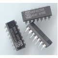 CD4023 3-Input NAND gates IC. 14pin DIP. (pack of 5).