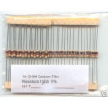 1K Ohm Carbon Film Resistors 1/4W 5%. (Pack of 5)