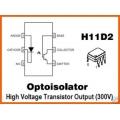 5 X OPTOISOLATOR MOTOROLA H11D2 optocoupler ICs. Pack of 5.