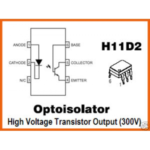 OPTOISOLATOR MOTOROLA H11D2 Optocoupler IC For Sale on tda7000 radio kit