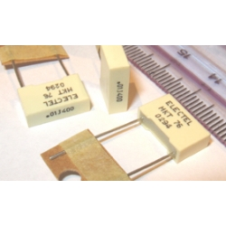 0.01uF 400V Metallised Polyester Capacitors MKT. (Pack of 5)
