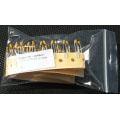 1uF 25V Tantalum Capacitors. Kemet. (Pack of 2).