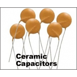 0.1uF (100nF, 104)   Ceramic Capacitors. (Pack of 4)