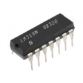 5 X LM319 ICs. 14pin DIP, High Speed Dual Comparator (pack of 5 ICs)