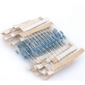 620 Ohm Carbon Film Resistors 1W 5%. (Pack of 5)
