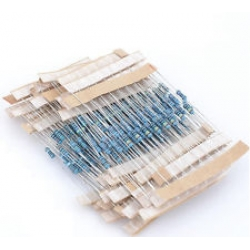 390 Ohm Carbon Film Resistors 1W 5%. (Pack of 5)